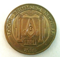 Lodge Brimmond Number 1535 Token