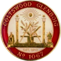 Lodge Coltswood Glenboig number 1067