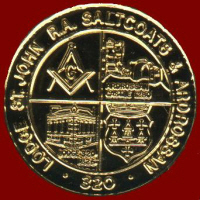 Lodge St John Royal Arch  TOKEN number 320